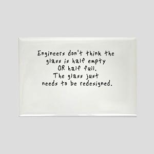 Geek Engineer Rectangle Magnet
