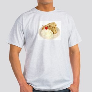 Some Apple Pie On Your Ash Grey T-Shirt