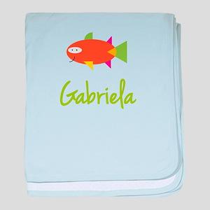 Gabriela is a Big Fish baby blanket