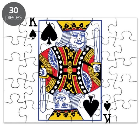 POKER FACE KING Puzzle