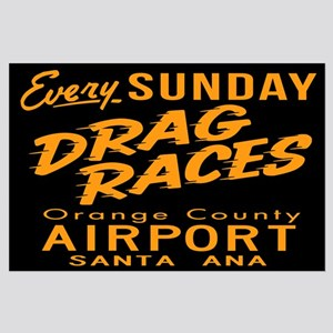 Drag Races Large Poster