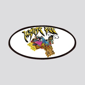 Graffiti Mighty Bee Patches