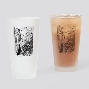 Ancient Honey Hunter Drinking Glass