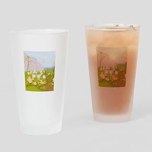Beekeeping Paradise Drinking Glass