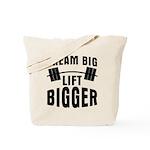 Dream big lift bigger Tote Bag
