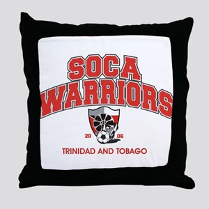 Soca Warriors Throw Pillow