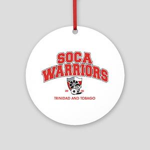 Soca Warriors Ornament (Round)