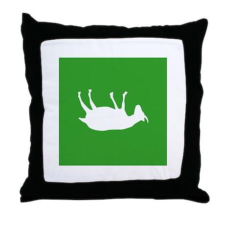 Fainting Goats Throw Pillow