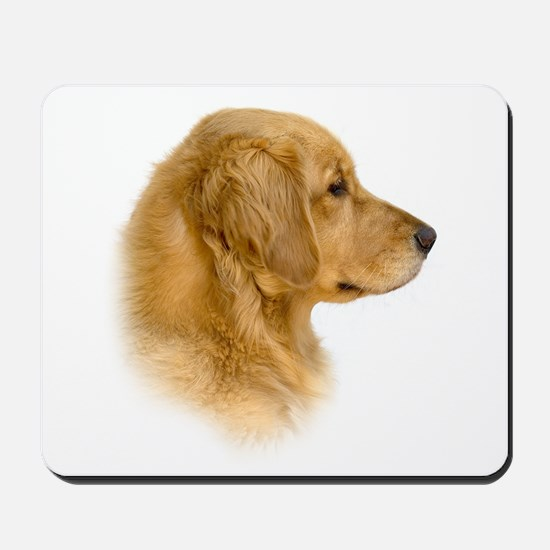 Golden Retriever Portrait Mousepad