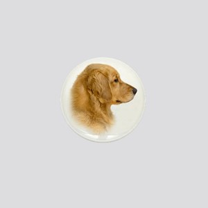 Golden Retriever Portrait Mini Button