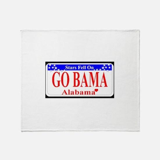 Go Bama! Throw Blanket