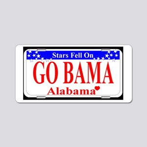 Go Bama! Aluminum License Plate