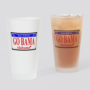 Go Bama! Drinking Glass