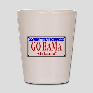 Go Bama! Shot Glass