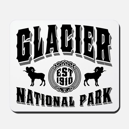Glacier Established 1910 Mousepad