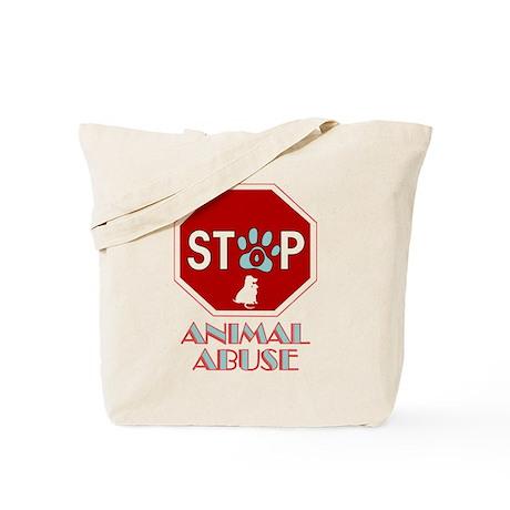 Stop Animal Abuse 1 Tote Bag
