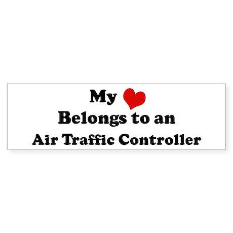Heart Belongs: Air Traffic Co Bumper Sticker