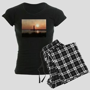 Muskegon Lighthouse 2 Women's Dark Pajamas