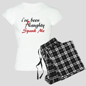 Naughty Spank Me Women's Light Pajamas