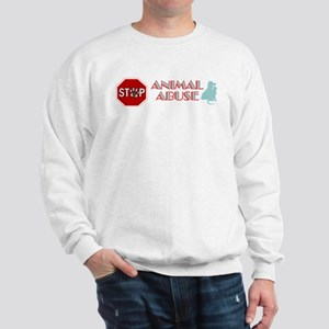 Stop Animal Abuse 2 Sweatshirt