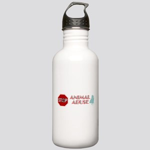 Stop Animal Abuse 2 Stainless Water Bottle 1.0L