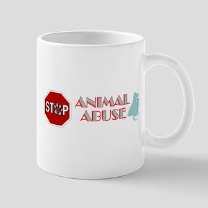 Stop Animal Abuse 2 Mug