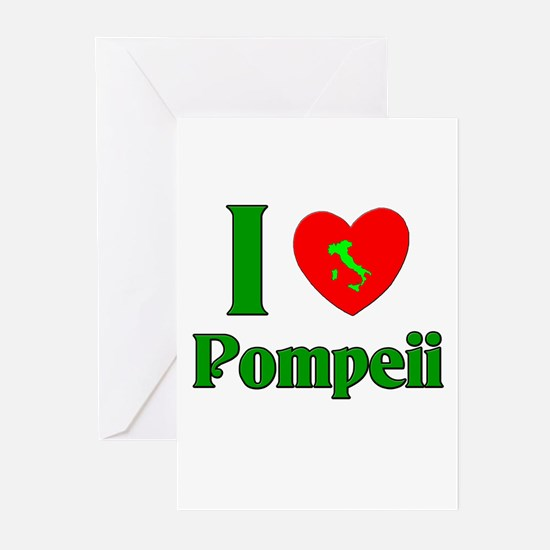 I Love Pompeii Greeting Cards (Pk of 10)