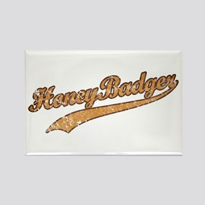 Team Honey Badger Rectangle Magnet