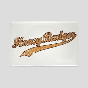 Team Honey Badger Rectangle Magnet