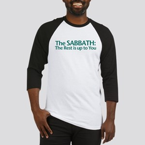 The SABBATH The Rest Is Up To You Baseball Jersey