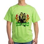 Hosts/Flames 2 Green T-Shirt