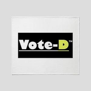 Vote-D Throw Blanket
