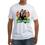Hosts/Flames 2 Fitted T-Shirt