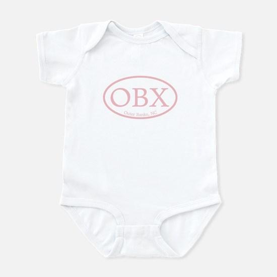 Pink OBX Outer Banks NC Infant Bodysuit