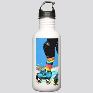 colorful skate Stainless Water Bottle 1.0L