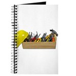 Hardhat Long Wooden Toolbox Journal