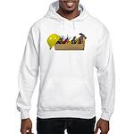 Hardhat Long Wooden Toolbox Hooded Sweatshirt