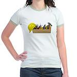 Hardhat Long Wooden Toolbox Jr. Ringer T-Shirt