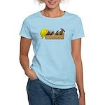 Hardhat Long Wooden Toolbox Women's Light T-Shirt