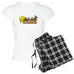 Hardhat Long Wooden Toolbox Women's Light Pajamas