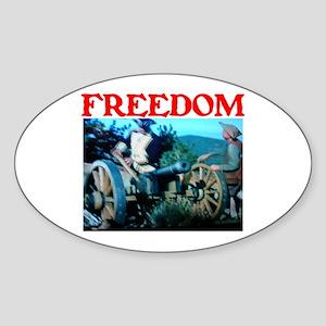 FREEDOM™ Sticker (Oval)