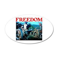 FREEDOM™ 22x14 Oval Wall Peel