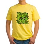 Through the Leaves Watercolor Yellow T-Shirt