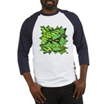 Through the Leaves Watercolor Baseball Jersey