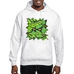 Through the Leaves Watercolor Hooded Sweatshirt