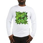 Through the Leaves Watercolor Long Sleeve T-Shirt