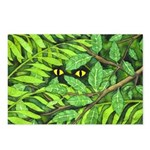 Through the Leaves Watercolor Postcards (Pkg of 8)