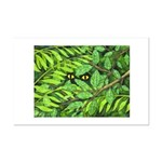 Through the Leaves Watercolor Mini Poster Print