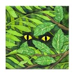 Through the Leaves Watercolor Tile Coaster