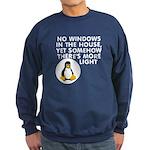 No windows Sweatshirt (dark)